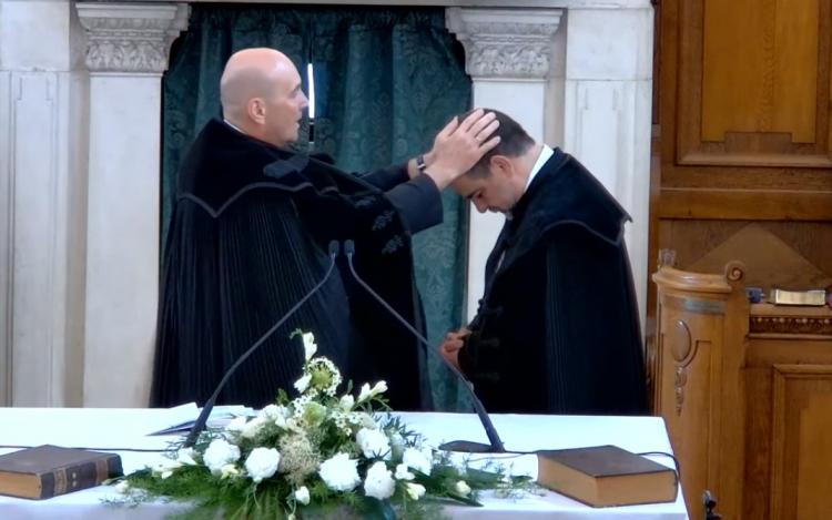 Ifj. Márkus Mihály lett a Pápai Egyházmegye esperese